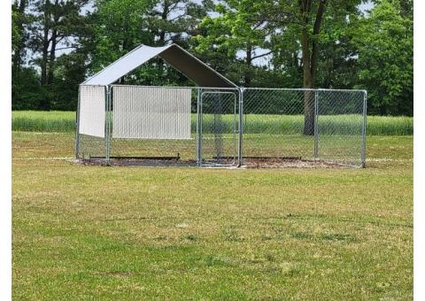 Dog Pen with Cover